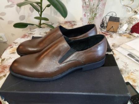 АБ обувь ручной работы мужские туфли