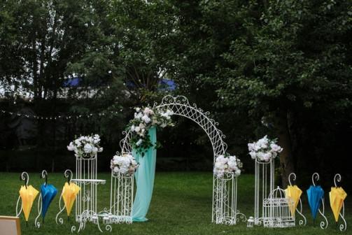 Свадебная ковка