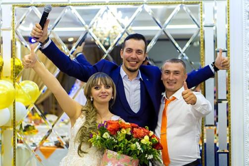Ведущий на свадьбу Омск. Тамада на свадьбу Омск. Проведение свадьбы в Омске