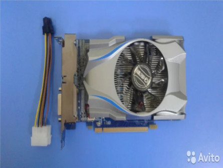 Видеокарта Galaxy GeForce GTX650 2GD5