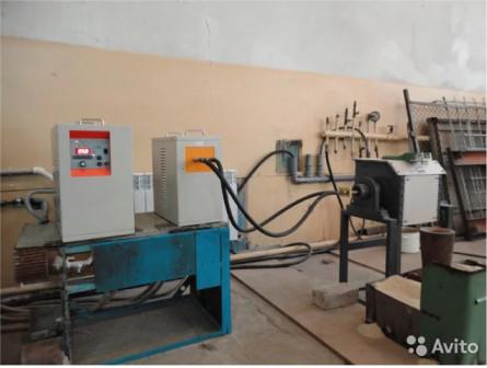 Индукционная печь ипп-25, 10 кг. по стали