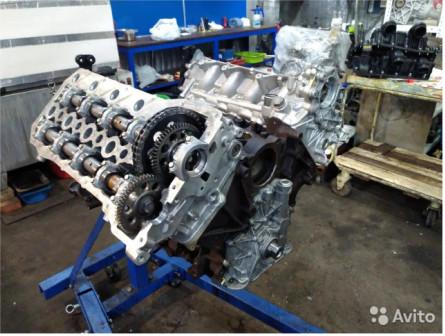 Двигатель Range Rover 448DT 4.4 TD V8