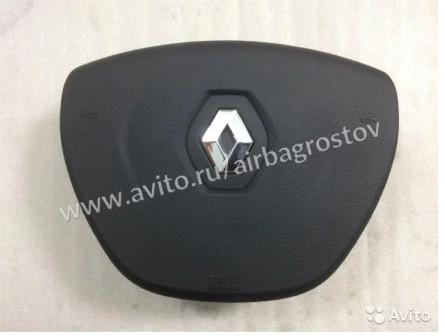 Airbag в руль Рено Логан подушка безопасности