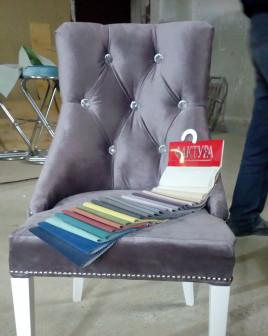 Кресло стул в каретной стяжке