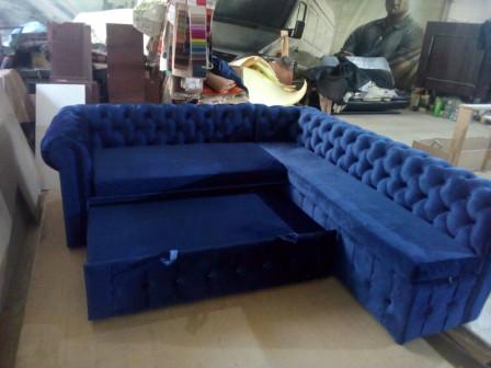 Угловой диван Честер с раскладным механизмом