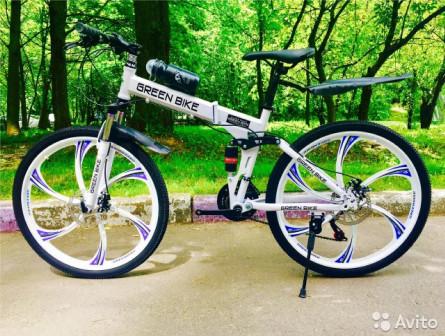 Велосипед на дисках. Раскладной