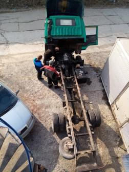 СВАП Мазда титан с двигателем 3UZFE