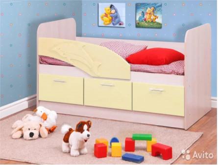 Детская кроватка Дельфин в наличии+доставка