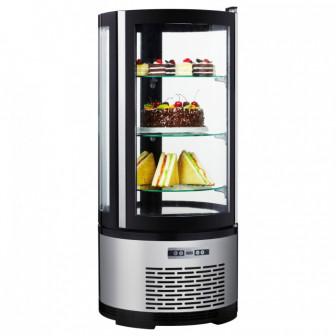 Витрина холодильная STARFOOD 100L( круглая)