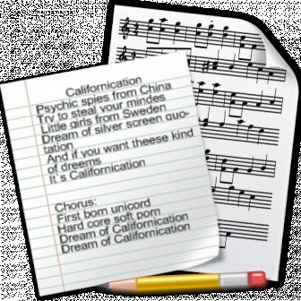 Написание песен и песенных текстов