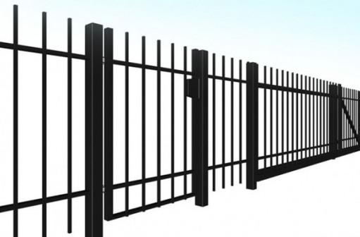 Металлические заборы, ворота, калитки