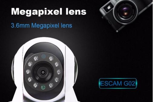 Доставка. Ip camera камера Escam G02 видеоняня