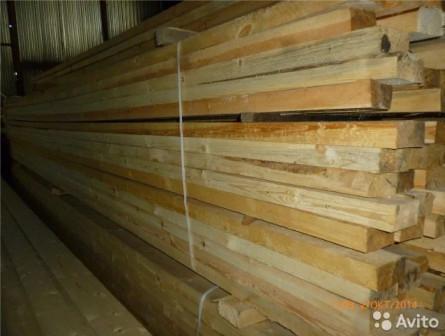 Доска сухая 40x100x6000мм (хвоя)