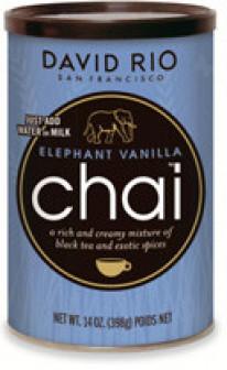 Пряный чай Elephant Vanilla Chai David Rio, упак 398 гр