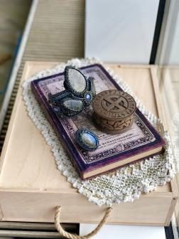 Комплект из натуральных камней