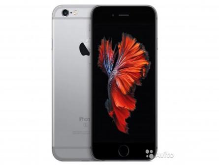 iPhone 6S Space Gray 16GB Новый, Гарантия