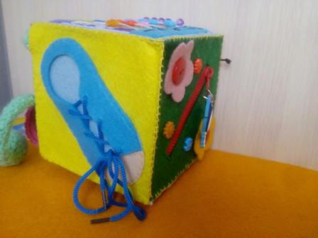 Детские игрушки ручной работы из фетра на заказ.