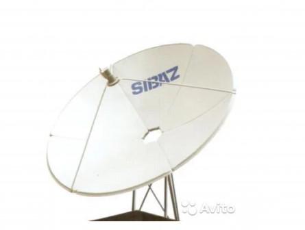 Спутниковая антенна сибаз-1.8 метра (лепестковая)
