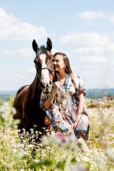 фотосессии с лошадьми в черте города