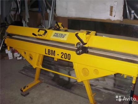Листогиб Metal Master LBM 200 PRO