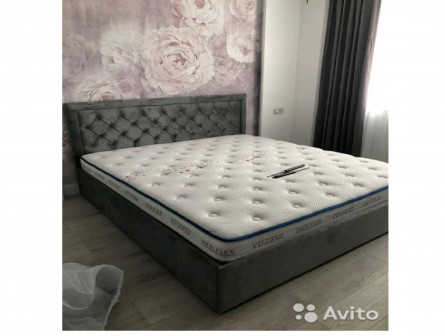 Кровать мягкая,любые размеры,новая,с доставкой и с
