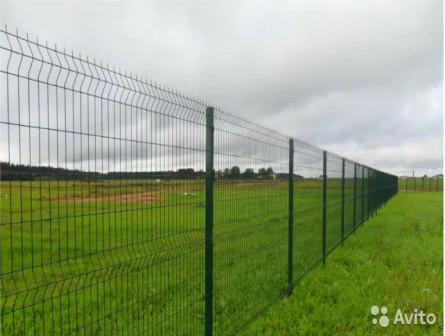Забор высотой 2 м. 3d панельные ограждения