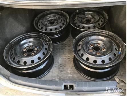 Штампы от Toyota Corolla R16