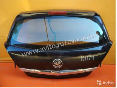 Дверь багажника со стеклом для Opel Astra H
