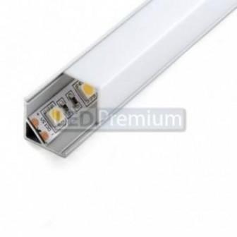 Угловой алюминиевый профиль ALP 10 [16x16mm] (квадратный экран)