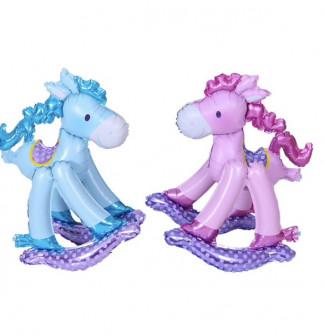 Надувная лошадка, игрушка для ребенка