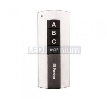 Выключатель для светильников 230V 1000W 3 хканальный 30м с пультом управления, TM76