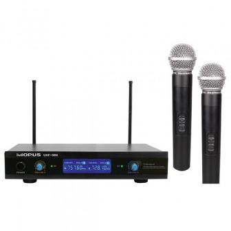 Радиосистема Opus UHF-988HH два микрофона, новая