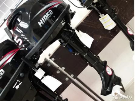 Лодочный мотор Hidea HD 5FHS. Бак 12л в подарок