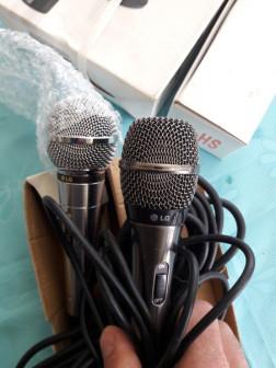 Микрофон LD  3 шт. Караоке Philips Wirelles sans files.