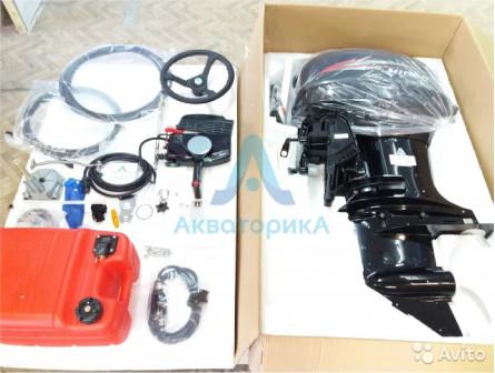 Лодочный мотор Hidea 40FES Дист.+Винт в подарок
