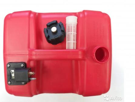 Топливный бак для лодочного мотора 12, 24 литра