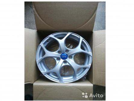 Новые литые диски R17 на Ford