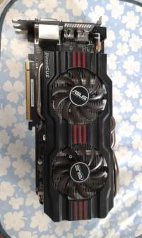 ASUS AMD Radeon HD7870 Объем видеопамяти 2 ГБ