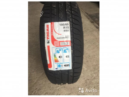 195/60R15 Tigar High Performance 88H