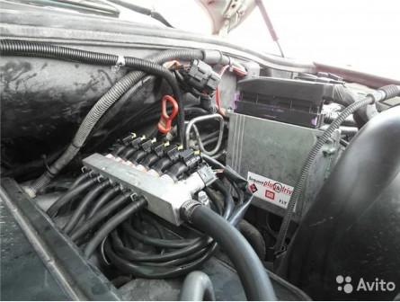 Гбо на авто BMW X5 комплект №61 установка гбо