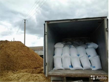 Навоз конский в мешках по 50 литров