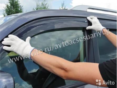 Дефлекторы на авто с доставкой