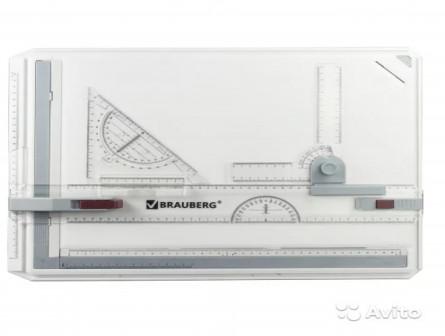 Доска чертежная А3 brauberg, 505х370 мм