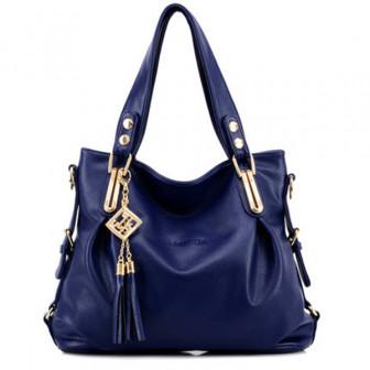 Женщины случайный искусственная кожа кулон сумка сумка Crossbody