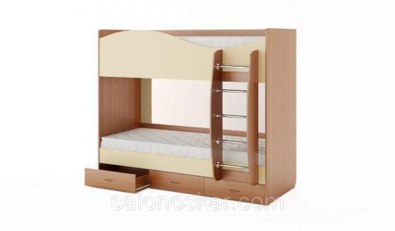 Кровать 2х яр с ящиками