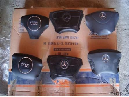 Подушки безопасности в руль на Мерседес, Ауди, BMW