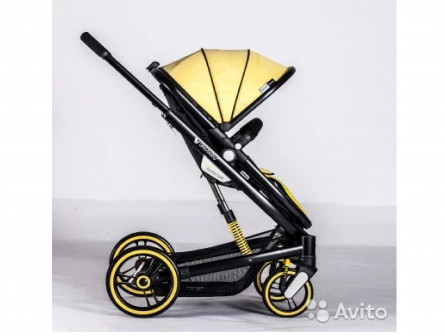 Новая легкая коляска