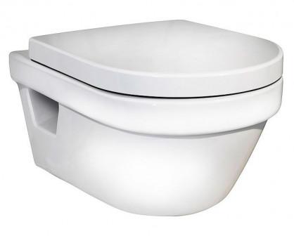 Унитаз подвесной GUSTAVSBERG Hygienic с сиденьем с микролифтом 5G84HR01