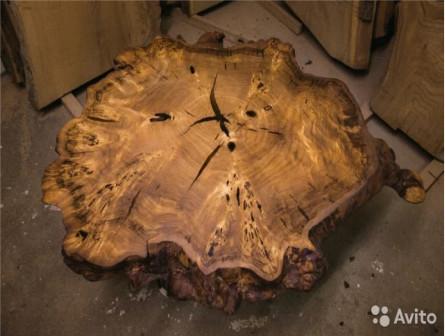 Мебель из слэбов дерева
