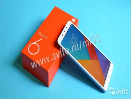 Xiaomi Redmi 6 3+32Gb Black Gold Blue